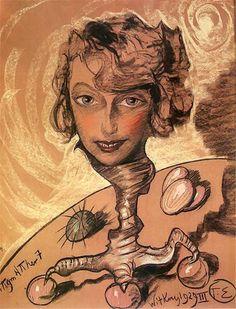 Portret Neny Stachurskiej 1929