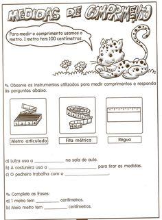 exercicios de matematica 2o ano para imprimir metro - Pesquisa Google