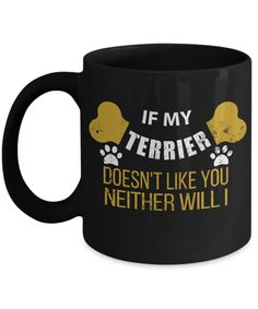 If My Wiener Dog Doesn't Like You Neither Will I Coffee Mug - Funny Dachshund Dog Owner Gifts Boston Terrier For Sale, Boston Terrier Tattoo, Boston Terrier Dog, Yorkshire Terrier, Whippet Puppies, Collie Puppies, Airedale Terrier, Dachshund Funny, Miniature
