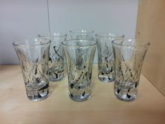 Handpainted shot glasses. Set of 4 $20. harrisartstudio.com