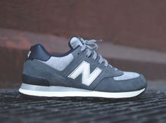 "New Balance 574 ""Pennant"" Dark Grey"