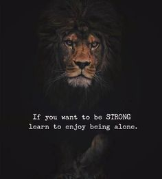 If you want to be strong.. via ()