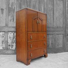 Art Deco Vintage 1930s Storage Drawers by MagpiesVintageShop