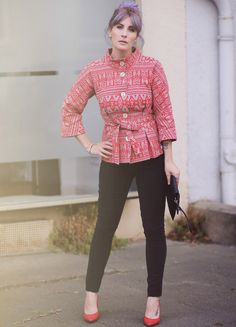 Mode Blog, Like A Riot, Fall Style, Fall Fashion, Autumn Outfit, Herbstlook, purple hair, Blusgeschwister