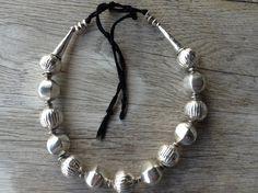 Ethiopia/Yemen/Somalian wedding necklace(Muria), silver 835, antique.Complete…