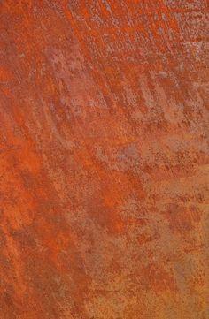 Plaque en acier rouillé par photogare.com