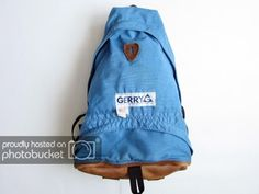 Rucksack   A Gerry backpack in great condition! The forerunner of todays  small soft shelled backpacks like eastpack and jansport. d30ee876c5