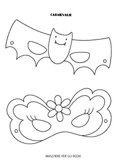Free Printable Coloring Pages, Coloring Pages For Kids, Halloween Themes, Halloween Crafts, Monster Bookmark, Printable Masks, Crafts For Kids To Make, Preschool Art, Art Activities