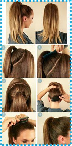 How to do the Beyoncé Ponytail