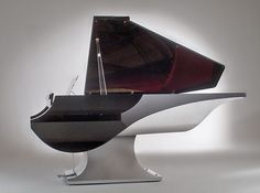 The Modern M. Liminal Grand Piano by NYT Line and Philippe Gendre for Fazioli.