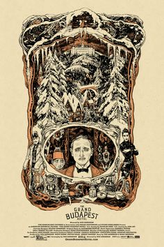The Grand Budapest Hotel Screen Print Poster By Vania Zouravliov Mondo Wes Anderson, Screen Print Poster, New Poster, Poster Prints, Grand Budapest Hotel Poster, Hotel Budapest, Omg Posters, Film Posters, Budapest