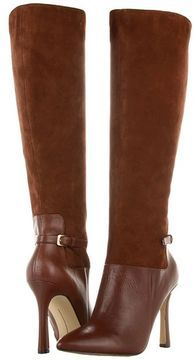 Nine West - JustRight (Dark Brown Leather) - Footwear on shopstyle.com