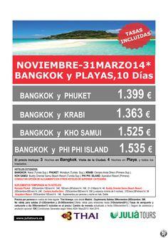 Bangkok y Playas. Noviembre-31Marzo 10 Días Thai Airways 1.399 Tasas Incluidas - http://zocotours.com/bangkok-y-playas-noviembre-31marzo-10-dias-thai-airways-1-399-tasas-incluidas-3/
