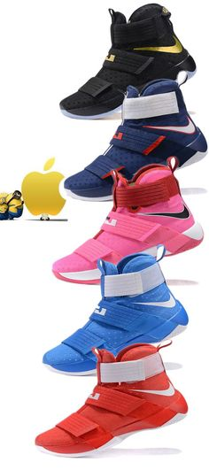 #LebronSoldier10 #shoes The Nike Zoom LeBron Soldier 10 Men's Basketball Shoe celebrates a decade of dominance in a fresh silhouette that delivers lightweight lockdown and responsive Air Zoom cushioning for explosive play-making on the court. - See more at: http://www.inbamart.com/lebron-james-Gear/lebron-soldier-10-basketball-zoom-shoes-7