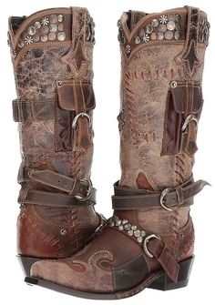 2ee98a49107 Double D Ranchwear by Old Gringo Frontier Trapper Women s Boots Cowgirl  Hats