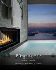 the most beautiful hotels in the Alps - the most beautiful lake hotels in the foothills of the Alps: BÜRGENSTOCK Resort Lake Lucerne, Lake - Lakeside Hotel, Lake Hotel, Spa Hotel, Marriott Hotels, Hotels And Resorts, Best Hotels, Lucerne, Small Luxury Hotels, Luxury Travel