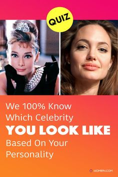 Answer 16 questions based on your personality to find out which celebrity, dead or alive, you most resemble. Love Playbuzz and buzzfeed quizzes? Time to find out who your celebrity look-alike is! #personalityQuizzes #whoareyou #aboutme #personality #Quizzes #quizzesfunny #lookalike #celeb #cebebritytwin #celebritylookalike #quizaboutyourself #funquizzestotake #me #aboutyourself #quizzesaboutyou ##quizzesaboutyourself