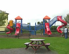 Children's play area at Gold Coast Holiday Homes. Book yourself a family getaway with http://www.irishcottageholidays.com/accommodation-detail/en/cottage-29/Gold_Coast_Holiday_Cottages