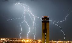 A lightning strike on a Baltimore control tower, which also injured an air traffic controller, is prompting the Federal Aviation Administration to examine hundreds of the buildings nationwide. Federal Aviation Administration, Lightning Strikes, Towers, Architecture, News, Arquitetura, Tours, Architecture Illustrations