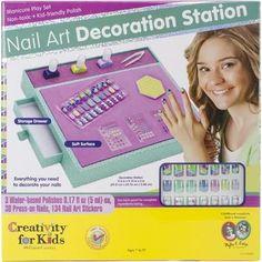 Nail Art Decoration Station