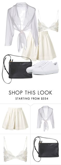 """Untitled #22640"" by florencia95 ❤ liked on Polyvore featuring Marc Jacobs, Alberta Ferretti, La Perla and A.P.C."