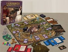 European game company River Horse is teaming up with The Jim Henson Company to create a Labyrinth board game.