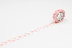 Beautiful floral mt washi masking tape http://www.stonemarketing.com/mt-washi-masking-tape-1-roll-sakura