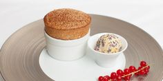 Shaun Rankin shares a dark chocolate souffle recipe, served with a helping of Christmas pudding ice cream - turning a simple dessert into a festive delight