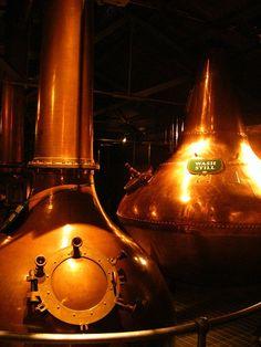 Jameson Whiskey Distillery,Dublin.