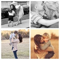 Mother & Toddler Son Photo Poses: maybe next year