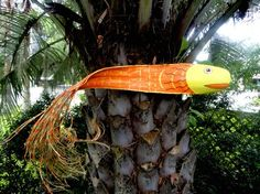 Weekend project TimOthee!!Palm frond fish.