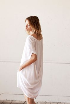 I ONLY WANT TO WEAR BAGGY DRESSES - lasaine dress #women #fashion #dress