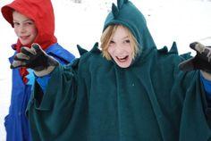 Carnaval = capes (tantehilde.be) --> roodkapje, draak,...