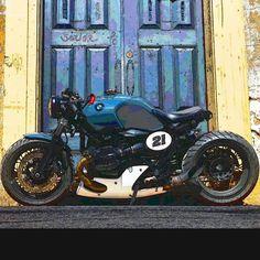 Bike Bmw, Cafe Bike, Cafe Racer Bikes, Moto Bike, Cafe Racer Motorcycle, Motorcycle Design, Bike Design, Custom Street Bikes, Custom Bikes