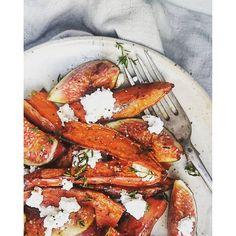 New post on the blog  www.mintaeats.com  #sweetpotato #figs #autumn #mintaeats