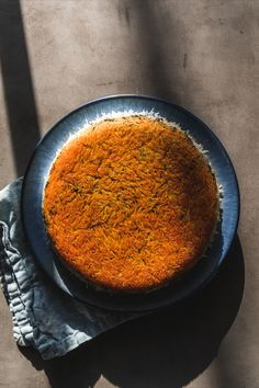 The real prize in this dish is the tahdig — crunchy, crackly and saffron-tinged! Gourmet Recipes, Vegetarian Recipes, Cooking Recipes, Healthy Recipes, Herbed Rice, Waffle Pizza, Pizza Style, Cup Of Rice