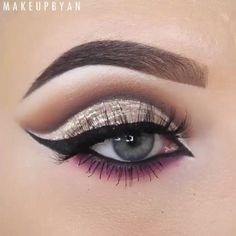 "So beautiful  @makeupbyan  Used the @vegas_nay  Star Dust eyepalette by @toofaced. In the crease: Millennial  Girl's night and Sin city On the eyelid @toofaced Glamour dust in the shade "" Nude beam Underneath the eyes Sin city  Millennial and a pink shade from the @morphebrushes 35b eyepalette Lashes by @esqido in the style "" Midnight Symphony @tartecosmetics Clay paint liner with @thebalmeu Schwing liquid liner on top of it in the waterline @benefitcosmetics They're real push up liner…"