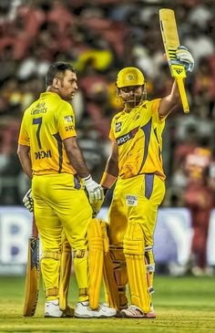 Most dangerous combination..... Dhoni and Raina..... Chennai super kings