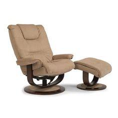 flexsteel spencer reclining chair and ottoman set
