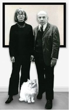 Herb and Dorothy Vogel. art people and cat people. inspirational.