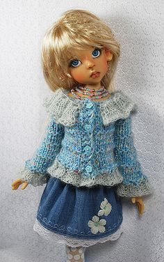 blue4  - doll by Kaye Wiggs