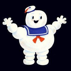 Marshmallow Man. #ghostbusters