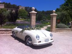 Vintage car by Mallorca wedding planners, Undercover Events