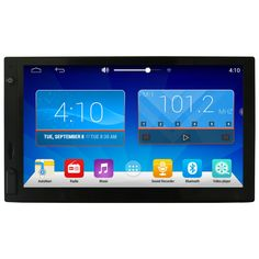 New arrival ! EZONETRONICS Android 4.4 Quad Core Universal 2DIN Car Stereo GPS Navigation Wifi Radio Bluetooth USB/SD Player