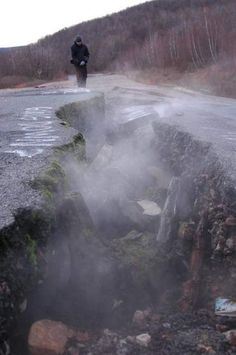 Centalia, Pennsylvania is the real Silent Hill. This once ordinary town was destroyed when the strip mine under it caught fire fifty years a...