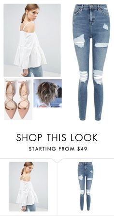 """""""cute."""" by danifashionblog ❤ liked on Polyvore featuring ASOS and Topshop"""