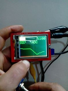 How to create a simple oscilloscope with arduino and tft lcd