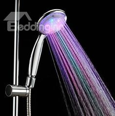 7 Colors LED Chrome Finish Hand Shower - without Shower Holder