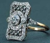 Diamond ring discovered on the Titanic shipwreck