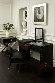 Denver Console And Side Table. Black Dressing TablesBlack OrchidThe ...